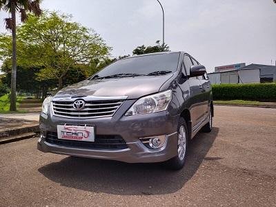 2012 Toyota Kijang Innnova 2.0 G A/T